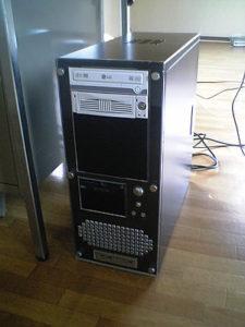 パソコンをアップグレード。