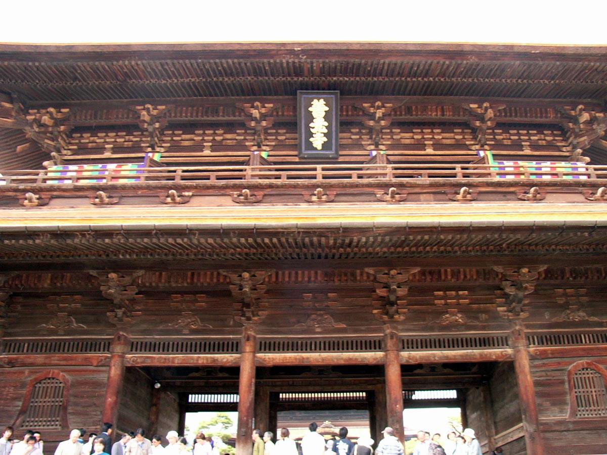 山門の額:信州信濃の善光寺に行ってきました