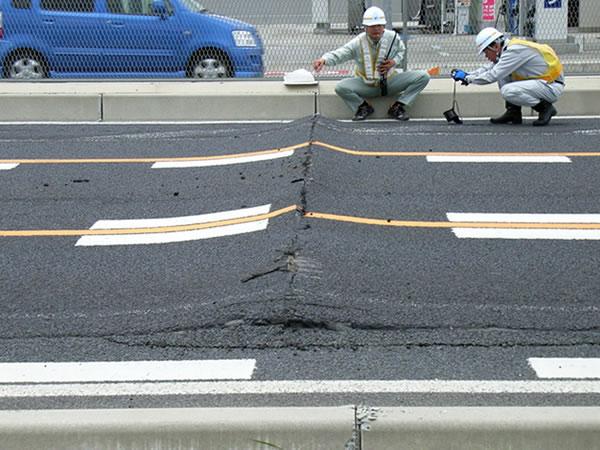 東北地方で大規模な地震です。
