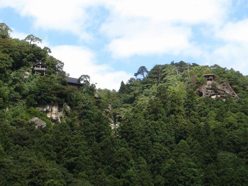 山寺からさくらんぼサイクリングロードを走る