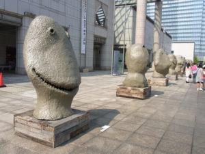 ウーゴ・ロンディノーネ「月の出、東、8月」:横浜で開催している「ヨコハマトリエンナーレ2011」を観る