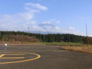 道の駅「朝霧高原」より:静岡県と山梨県への旅 - 2011年11月13日