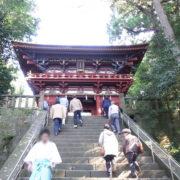 静岡市の日本平から久能山東照宮へ