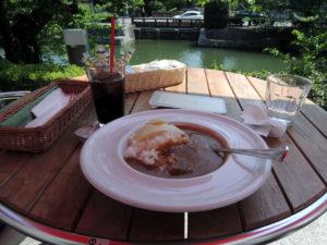 「Cafe de 505」の湯葉カレ:京都国立近代美術館へ行く