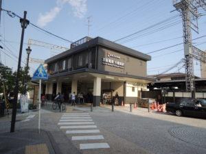 京阪宇治線、中書島駅:坂本龍馬ゆかりの寺田屋に行く