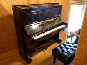 1911年製ベヒシュタイン:真下慶治記念美術館で1911年製ベヒシュタインピアノによる「ピアノ・フルートコンサート」