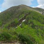 三沢山から見た北面白山