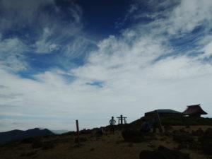 蔵王の熊野岳に登る