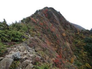 蔵王連峰の雁戸山に登る - 2014年秋