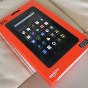 amazonのKindle Fireタブレットを買った。