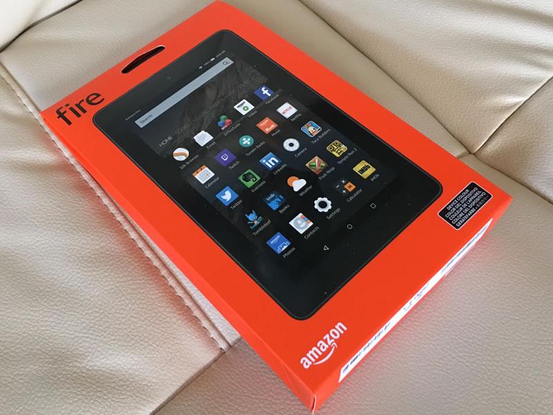 amazonのKindle Fireタブレットを買った