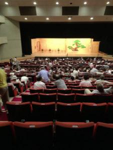 能舞台:山形市民会館で『第十八回 山形能』を観る