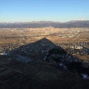 富神山の影 - 2018年3月