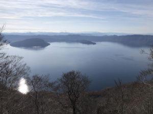 御鼻部山展望台からみた十和田湖:十和田湖 - 2019年11月10日